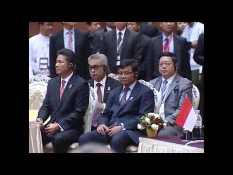 Hun Sen PrimeMinister in Myanmar 10 to11 May2014 ASEAN Summit 24 TVK