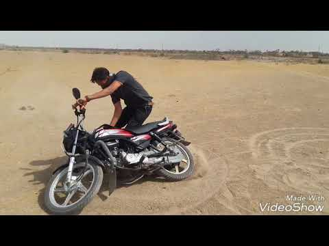 HF deluxe bike stunt