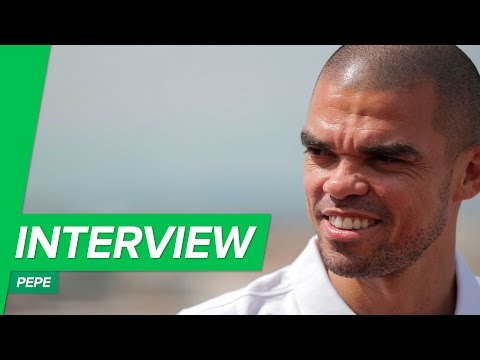 Interview with Pepe about his new signature Umbro Speciali Eternal boot