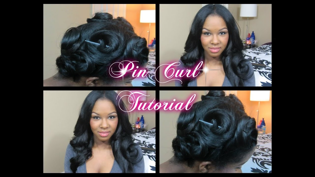 How To Pin Curl Tutorial Make Your Curls Last Without Heat Youtube