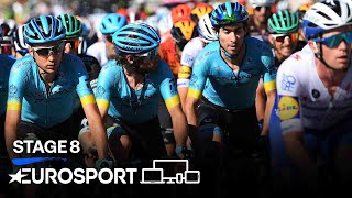 Giro d'Italia 2020 - Stage 8 Highlights | Cycling | Eurosport