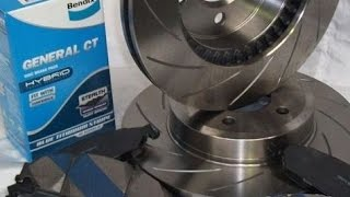 Замена тормозных дисков и колодок