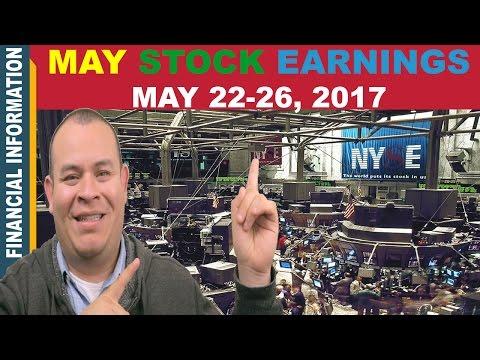 May Stocks Earnings📊 | Week of May 22-26📆