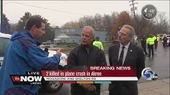 Akron Mayor and Akron Police Chief discuss fatal Akron plane crash