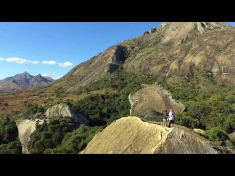 Visit Madagascar by drone