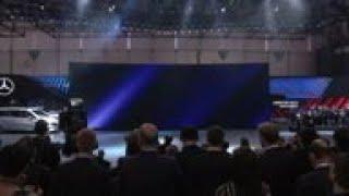 Mercedes Benz debut electric van concept & SUV update