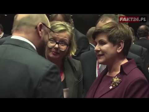 Merkel do Szydło po polsku! Tusk... nierozmowny