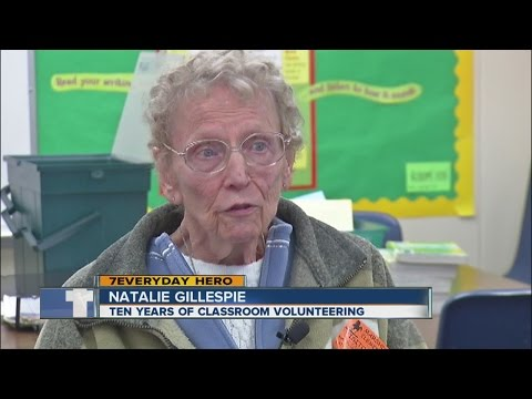 Marshdale Elementary School volunteer frees up time for teacher to focus on children