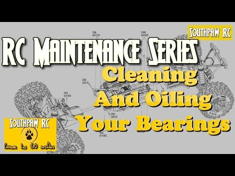 RC Maintenance Series-Episode 4 Cleaning Your Bearings