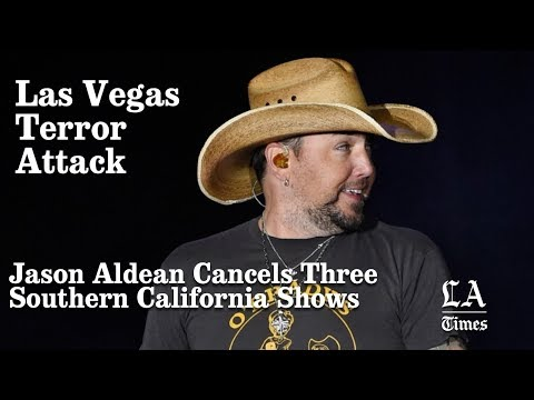 Jason Aldean Cancels Three Southern California Shows 'to mourn the ones we have lost' | LA Times