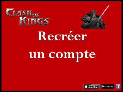 [Clash Of Kings] [Android & Ios] [Tuto] Recréer Un Compte