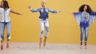Making of Desigual's  Exotic Jeans SS17 powered by #Hiplet