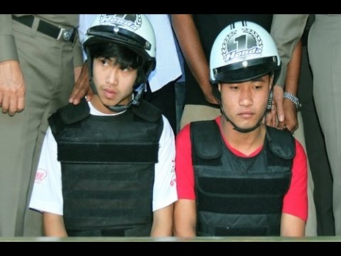2 Myanmar Workers Charged with Murdering British Tourists in Thailand