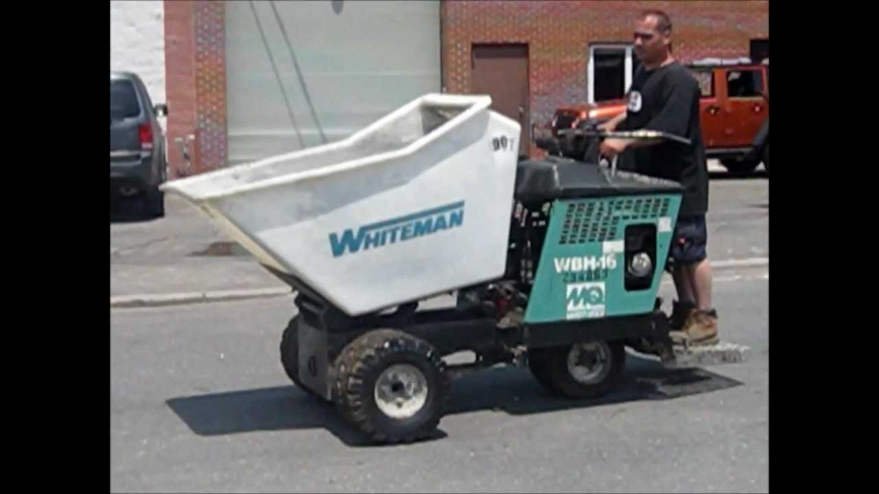Fast Ride-on Whiteman Concrete Buggy | Gold Star Equipment Supply Inc  |  Used Construction Equipment