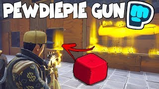 Dumb Scammer Loses Exclusive *NEW* Pewdiepie Gun! (Scammer Gets Scammed) Fortnite Save The World