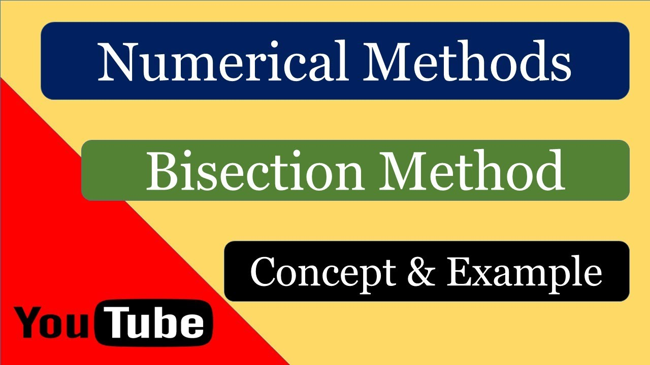 Bisection Method ll Numerical Methods with One Solved Problem ll GATE 2019  Engineering Mathematics
