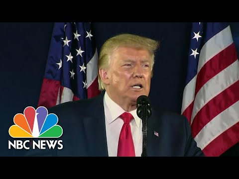Trump Attacks NASCAR Bubba Wallace Over Noose Incident Confederate Flag Removal  NBC Nightly News