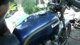 Swapping out your locking gas cap on late 70's to early 80's KZxxx Kawasaki Motorcycles