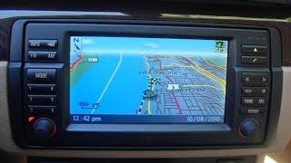 Bmw E46 Mk4 Navigation 2010 Tele Atlas Dvd Map Full Review Part 2 Youtube