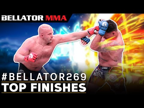 Is Fedor the Heavyweight GOAT? | Top Finishes B269 Fighters | Bellator MMA