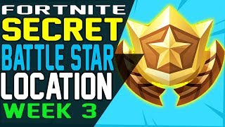 Fortnite SECRET BATTLE STAR WEEK 3 LOCATION Season 7 - Week 3 Loading Screen - Snowfall Challenges