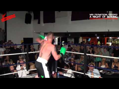 A Night of Boxing - Round 5   Ben Greenwood VS Lee Shuell - SHAREFIGHT.COM