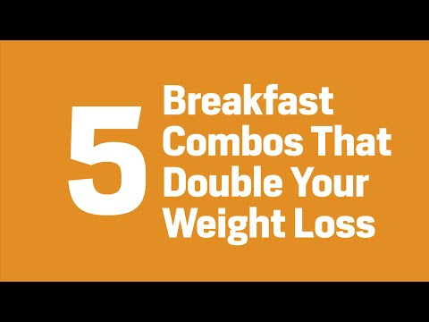 5 Breakfast Combos That Double Your Weight Loss