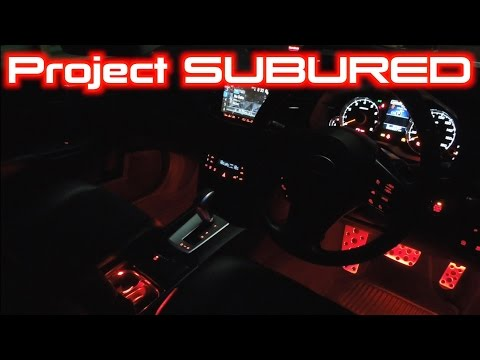 Project Legacy: Mood Lighting Install Part 1