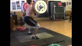 Power Clean and Jerk 205 kg - Lovchev Aleksey