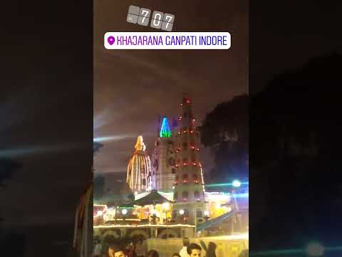 Khajrana Ganesh Mandir Indore Madhya pradesh-Ganesh utsav-Lighting decoration,Gd Ganesh