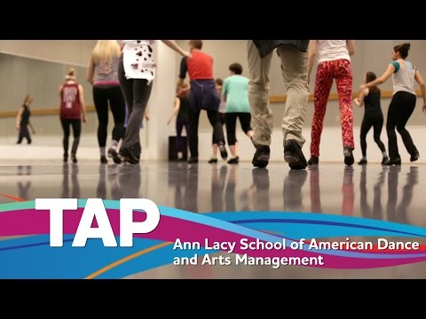 Tap at the Ann Lacy School of American Dance and Arts Management