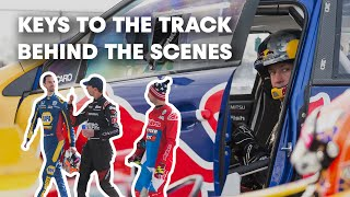 Behind the Scenes of Pastrana, Rossi and Duffy's Indy Triple Jump | Keys to the Track