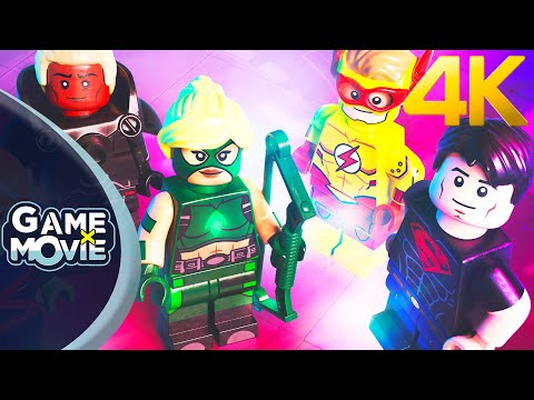 LEGO YOUNG JUSTICE LEAGUE - Film Complet (Game Movie) FR 4K PS5