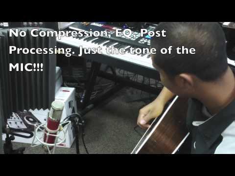 Avantone CV12 Acoustic Guitar Demo