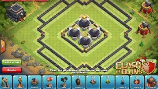 Clash Of Clans - Amazing TH9 Dark Elixir Farming Base