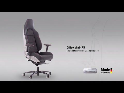 Office chair RS – the original Porsche 911 sports seat.
