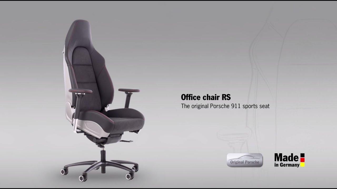 Office chair RS  the original Porsche 911 sports seat