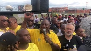 Ramaphosa visits Delft to address Western Cape voters