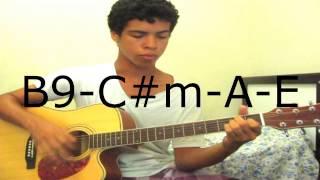 aula de violão: um anjo - KLB (como tocar)
