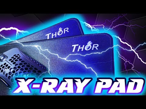 X-Ray Pad - Thor XL & XXL Mousepad Reviews: SUPER FAST Cloth Surface