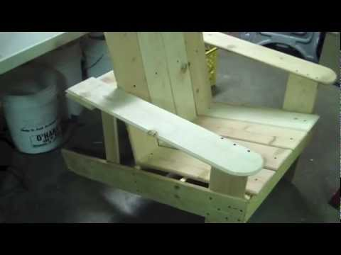 how to build cheap adirondack chair idiots guide to wood working,