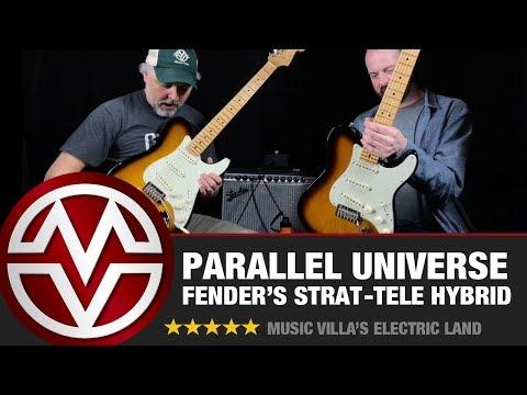 Fender Parallel Universe (Strat-Tele Hybrid) - Electric Land Review