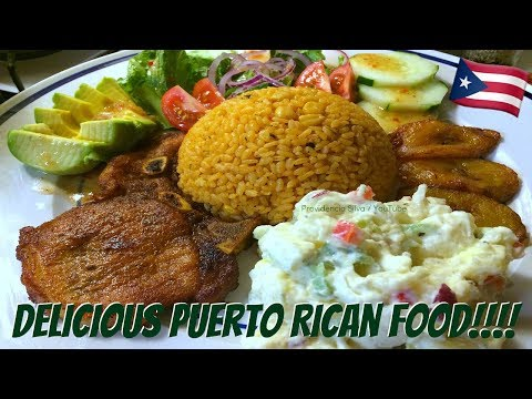 Come Cook With Me... #18 PUERTO RICAN FOOD | Yellow Rice W/ Corn | Potato Salad | Sweet Plantains