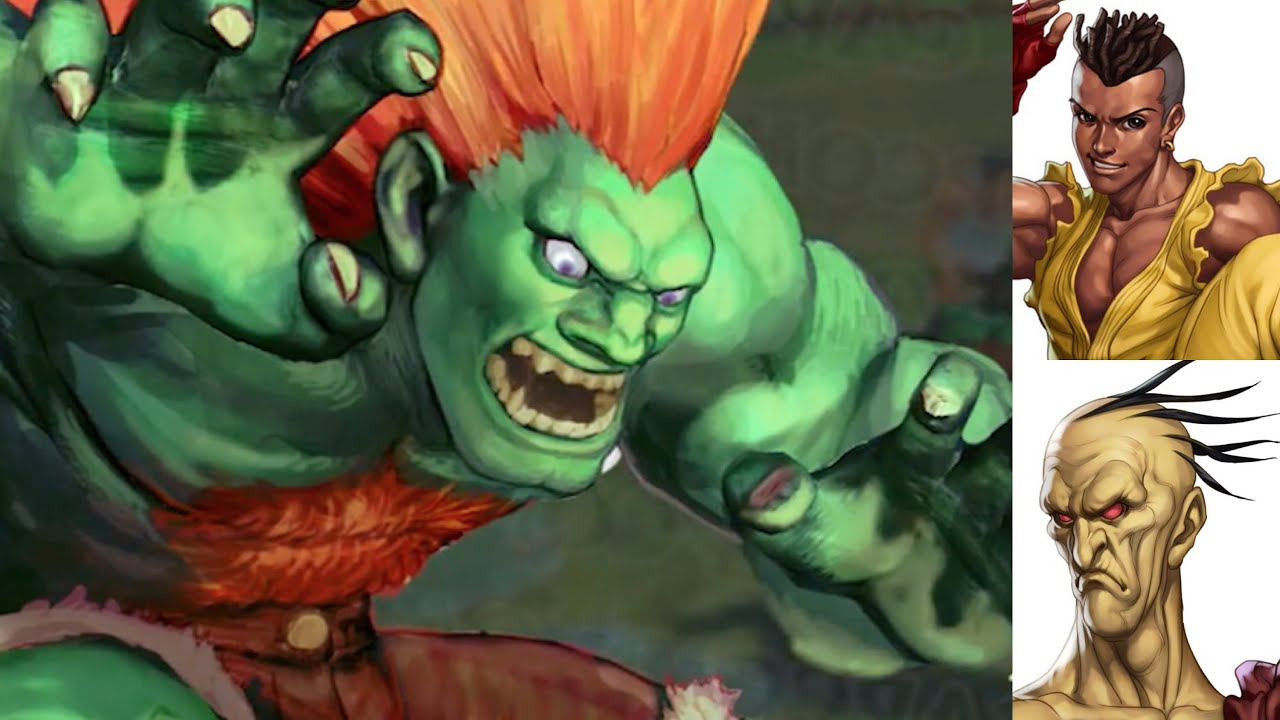 Blanka In? Sean/Oro To Follow? New Brazil Stage! - Street Fighter V / 5