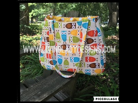 Swoon Ethel Tote Bag Full Length Tutorial