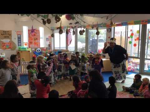 Samoan Language Week at Kids Connection, 2015