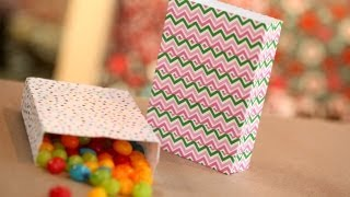 How to Make Favor Bags From Envelopes || KIN DIY