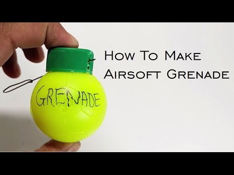 Airsoft Grenade or Airsoft Bomb DIY - HACKING DISCOVERIES