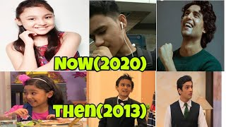 OYE JASSIE CAST THEN(2013) AND NOW(2020).