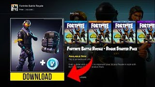 *NEW* HOW TO DOWNLOAD Rogue Agent Starter Pack on Fortnite! - Fortnite Battle Royale Rogue Agent